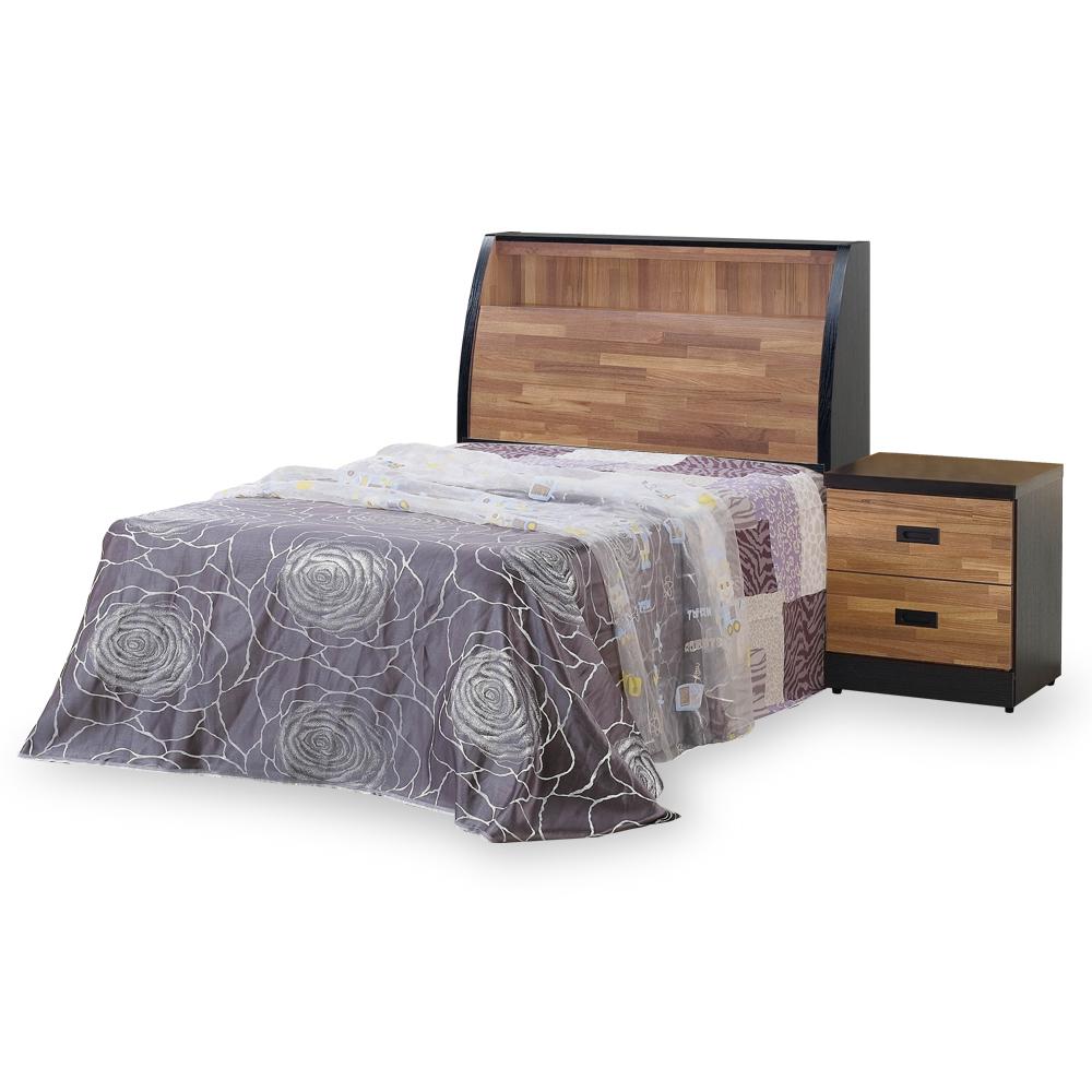 時尚屋 本森積層木床箱型3.5尺加大單人床(不含床頭櫃-床墊)