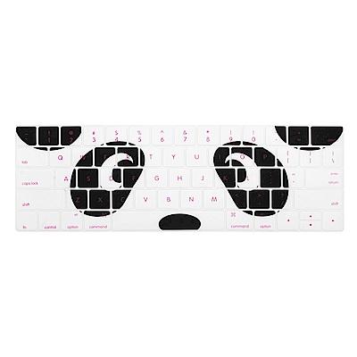 【SHOWHAN】MacBook Pro Touch Bar 13吋英文鍵盤膜 熊貓