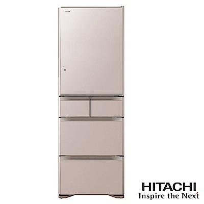 HITACHI日立501L五門日製變頻電冰箱RG5