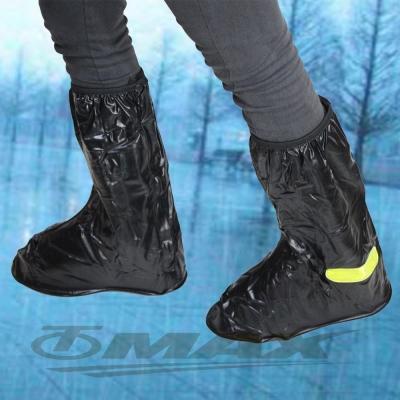 天龍牌超跑賽車型雨鞋套-全黑
