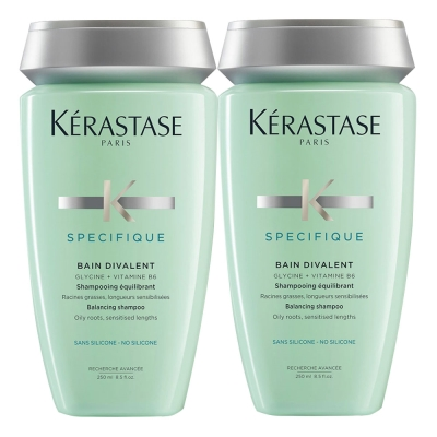 *Kerastase卡詩 胺基酸平衡髮浴(中性及油性頭皮)250mlx2
