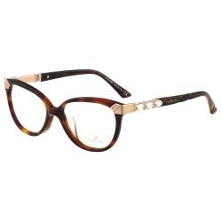 SWAROVSKI-水鑽 光學眼鏡(琥珀色)SW4107