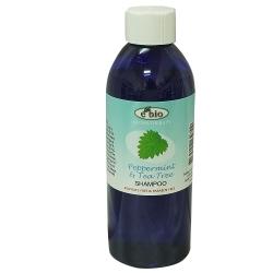 ebio伊比歐薄荷&茶樹精油洗髮精200ml-頭皮屑適用(略涼配方)