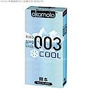 岡本003-COOL 冰炫極薄保險套 6入