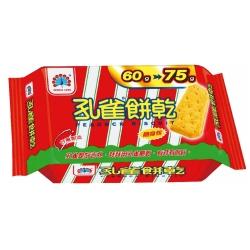 孔雀 餅乾隨身包(75gx12包)