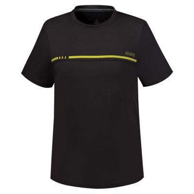 【ATUNAS 歐都納】ATUNAS-TEX吸溼排汗男短T恤A-T1704M黑
