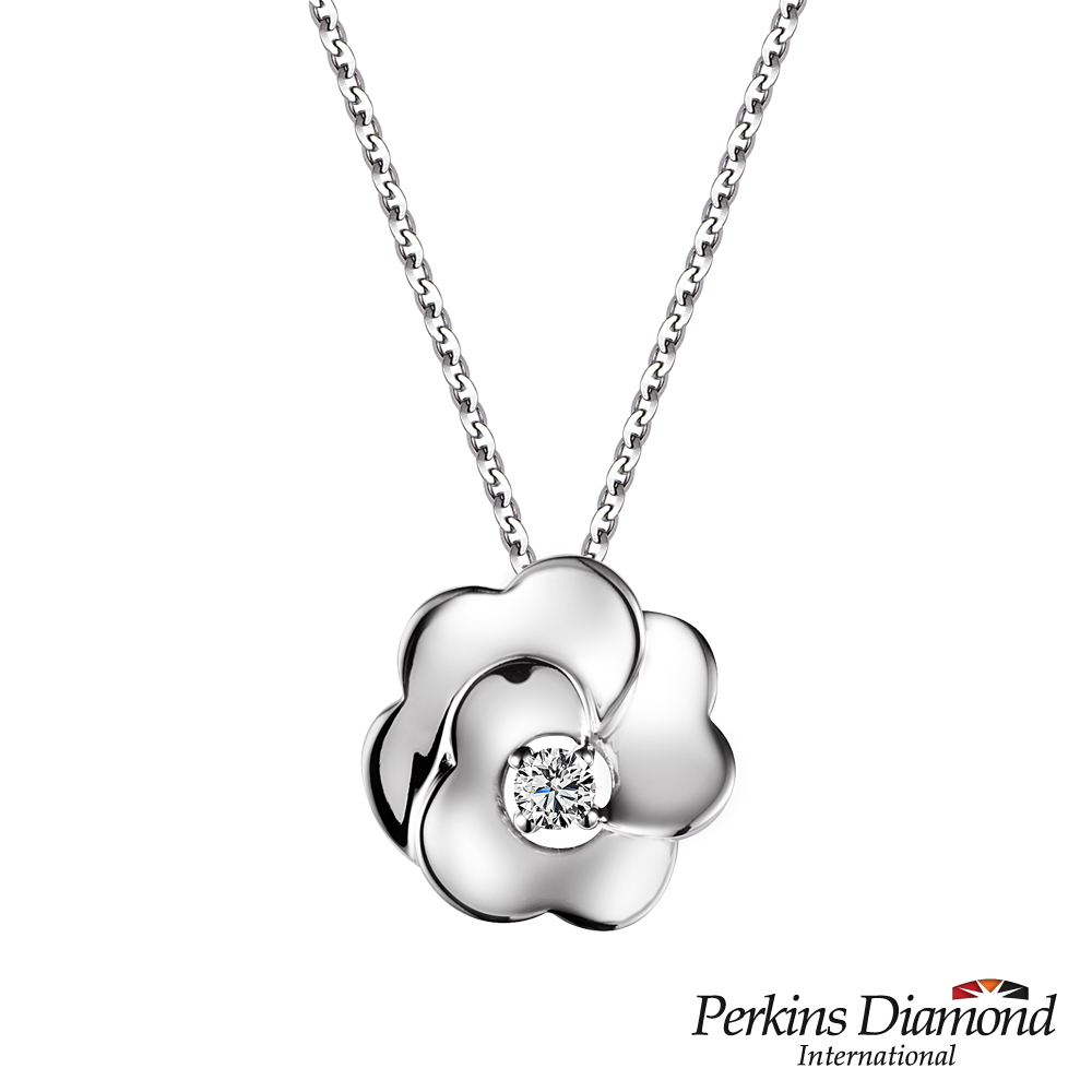 PERKINS 伯金仕 - Rose系列 0.06克拉鑽石項鍊