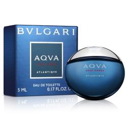 BVLGARI寶格麗 勁藍水能量男性淡香水小香5ml