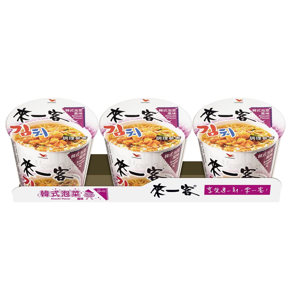 來一客 韓式泡菜風味(67gx3入)