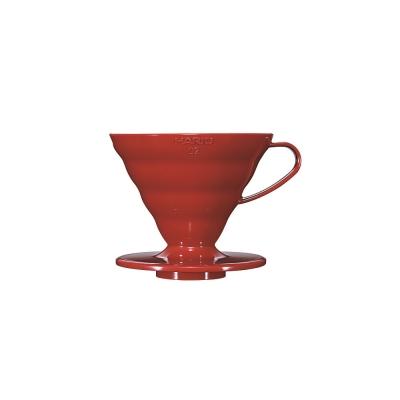 HARIO-V60紅色02樹脂濾杯1~4杯 / VD-02R