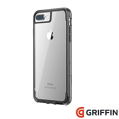 Griffin Survivor Clear iPhone 8+/7+ 軍規防摔...