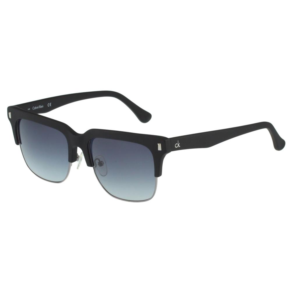 Calvin Klein- 帥氣太陽眼鏡(黑配銀)