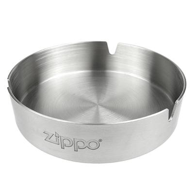 ZIPPO 不鏽鋼製-圓形桌上煙灰缸