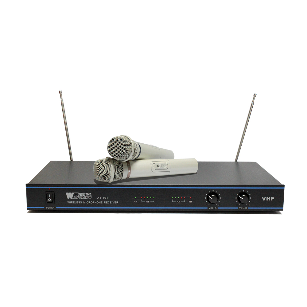 WEMAN威名 超高雙頻無線麥克風組(AT-101)