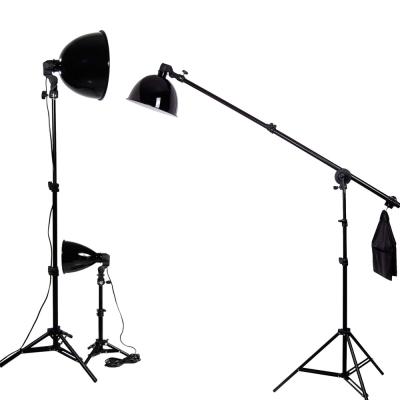 柔光罩超亮度攝影棚燈多用專業50W三燈組