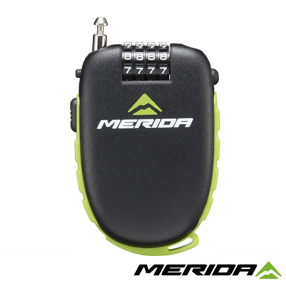 《MERIDA》美利達 2134002446 鋼索密碼鎖 4字輪伸縮式 120cm