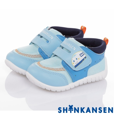 ShinKanSen新幹線 透氣抗菌防臭減壓抗菌休閒童鞋-水