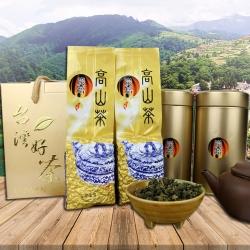 醒茶莊 台灣上選-炭焙烏龍高山茶禮盒300g(1組)