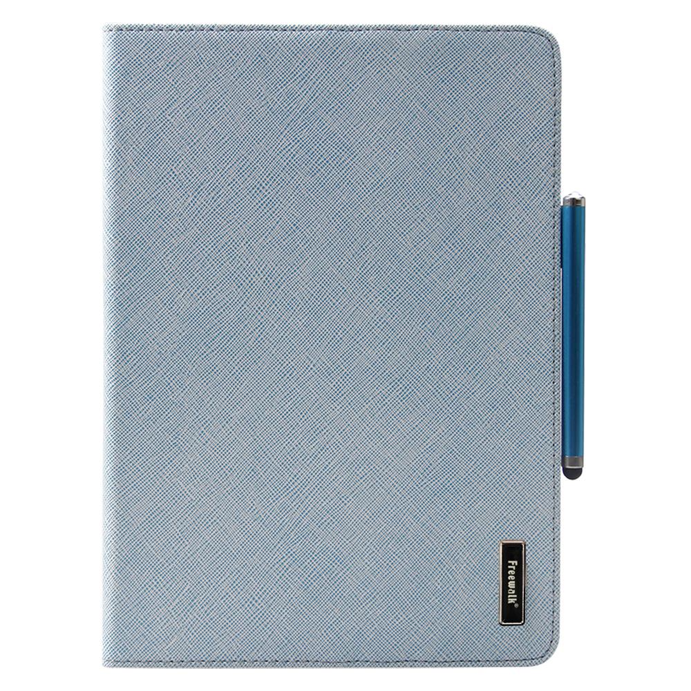 [福利品]美國Freewalk Apple iPad Air 商務高質感皮革保護皮套