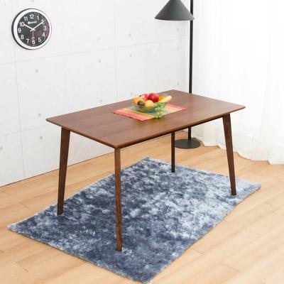 佳櫥世界-Bert伯特實木餐桌-130x80x75.5公分