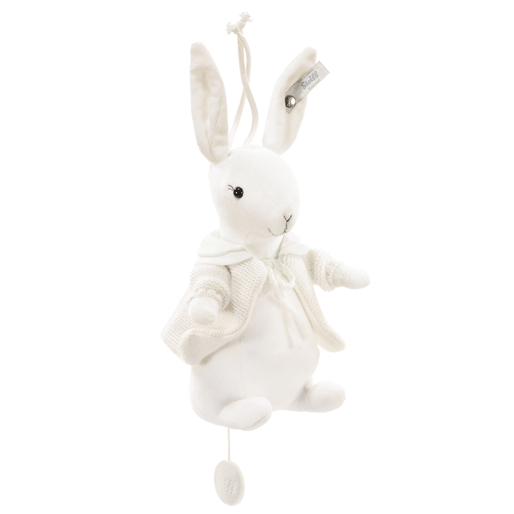 STEIFF泰迪熊 - 嬰幼兒音樂鈴 Rabbit 18cm (頂級精品)