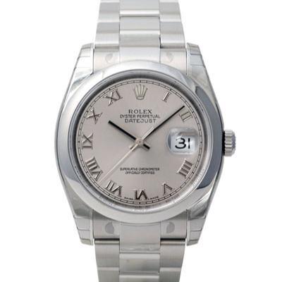 ROLEX 勞力士 Datejust 116200 蠔式日誌型機械錶-銀/羅馬/36mm
