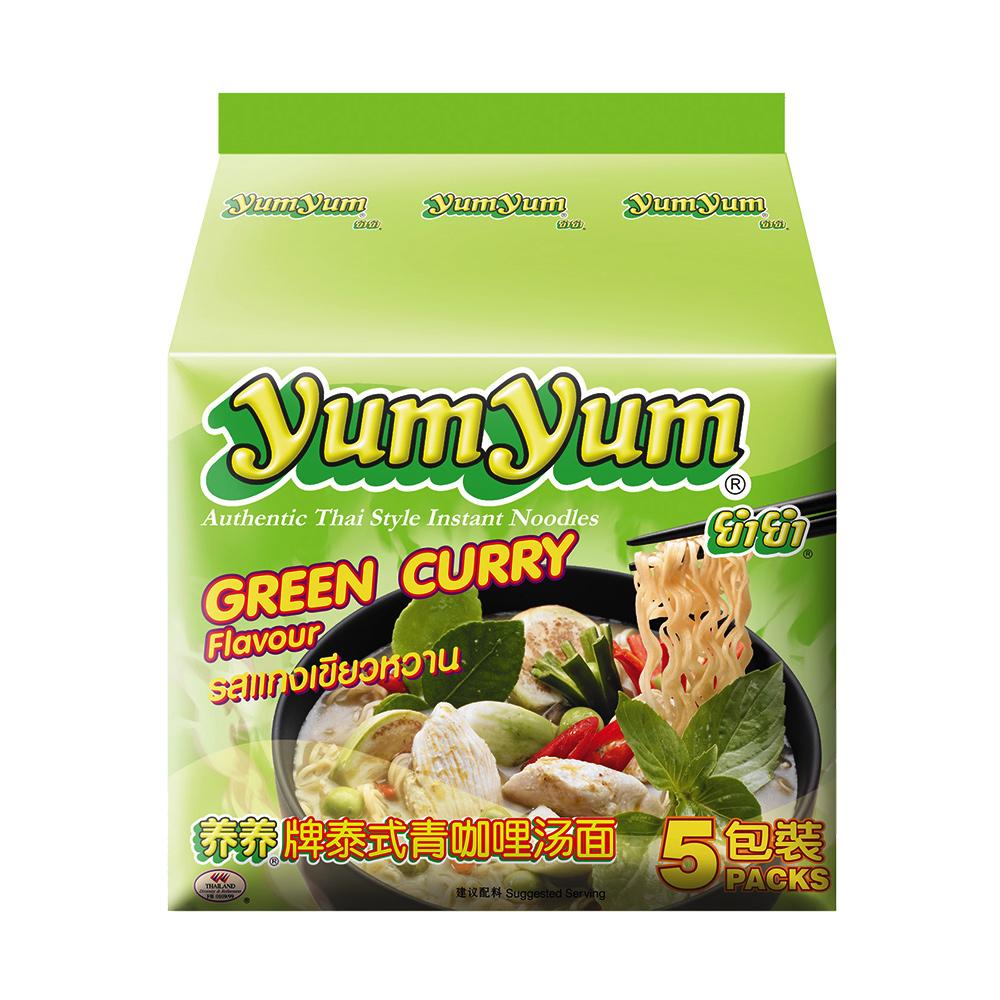 (活動)YUM YUM養養 泰式綠咖哩味麵(350g)