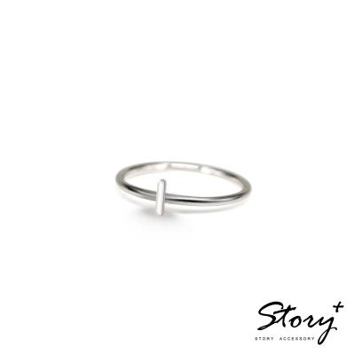 STORY ACCESSORY-字母系列-字母I 純銀戒指