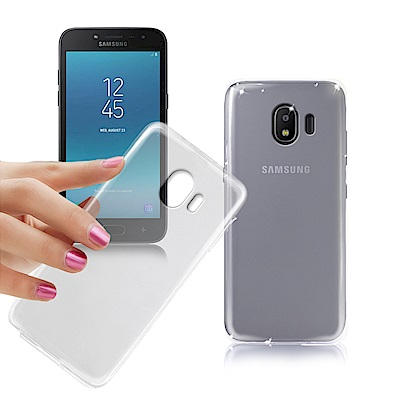 Xmart for 三星 Galaxy J2 Pro 薄型清柔隱形保護手機殼
