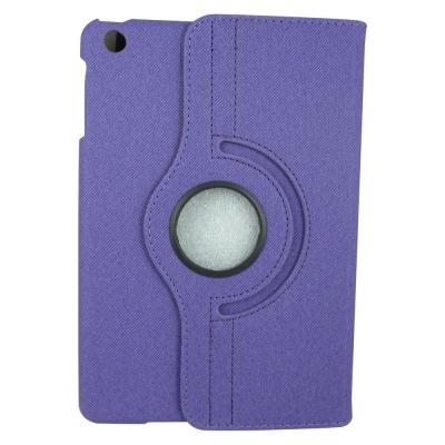 M17斜紋旋轉款ipad mini 2 二代(retina)平板皮套&螢幕保護貼組