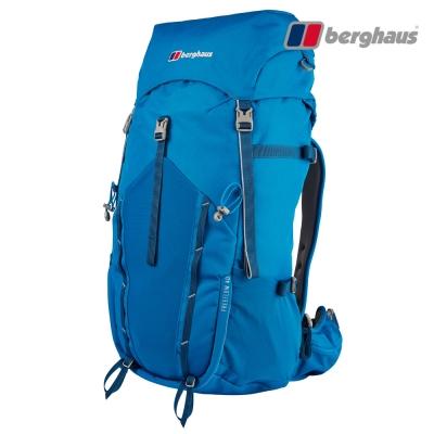 【Berghaus貝豪斯】男款FREEFLOW登山背包40LT27M23愛琴海藍