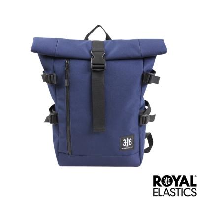 Royal Elastics - 捲蓋式休閒後背包 - Hunter都會獵人系列 - 藍