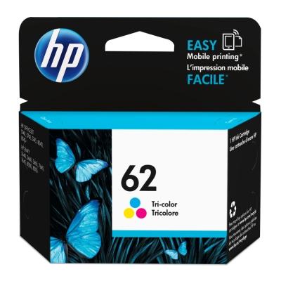 HP NO.62 原廠彩色墨水匣C2P06AA