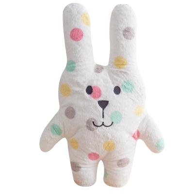 CRAFTHOLIC 宇宙人 粉彩點點兔寶貝枕