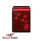 凱騰 Eagle Safes 韓國防火金庫 保險箱 (LU-1000RW)(酒紅玫瑰)