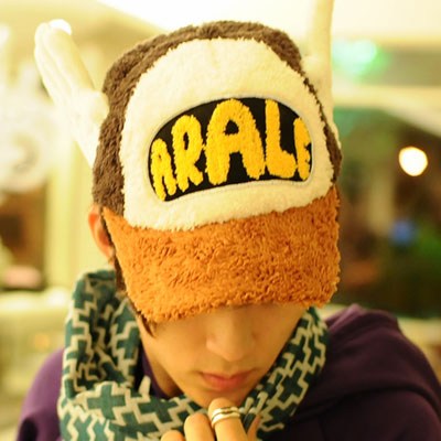 Aimee-Toff-創意飛翔立體翅膀球帽-黃