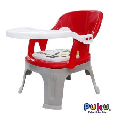 PUKU藍色企鵝 Crocodile小鱷魚餐盤BB椅