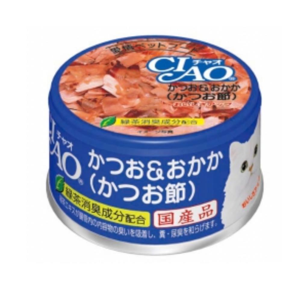 CIAO 旨定罐10號《鰹魚+柴魚》85g