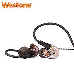 Westone UM Pro 10 New 壹單體可換線專業監聽級入耳式耳機-透明