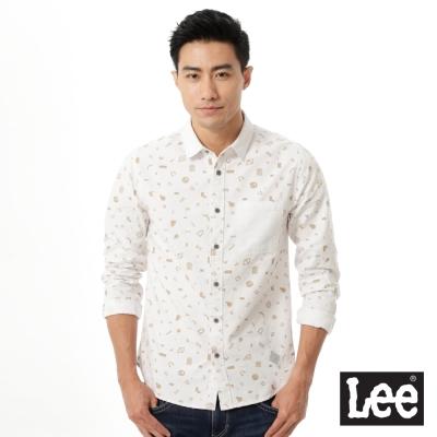 Lee-Urban-Rider-印花長袖襯衫-男款
