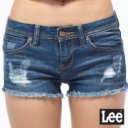 Lee 牛仔短褲  合身貓鬚