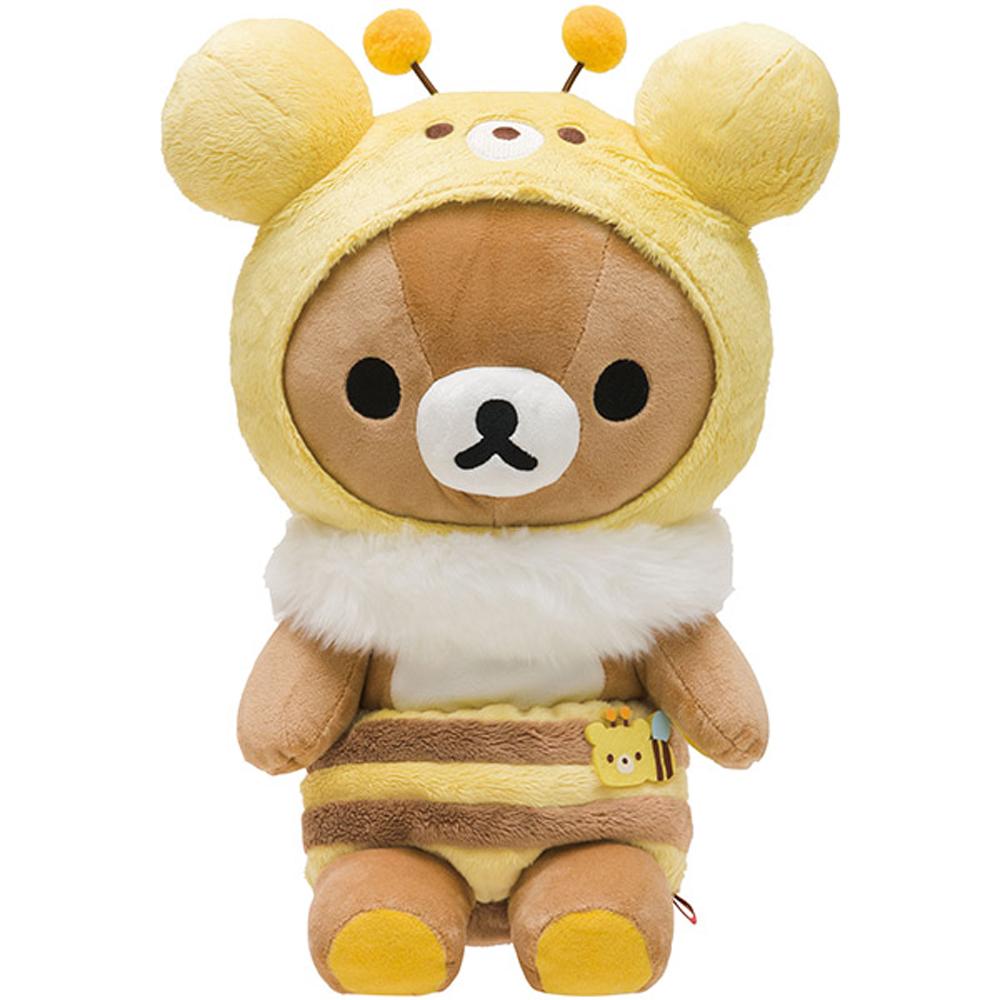 拉拉熊蜂蜜森林豐收節系列毛絨公仔(M) 懶熊 San X