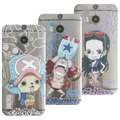 MOLANG HTC ONE M8專用 ONEPIECE航海王透明手機殼