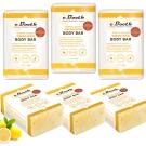 Freeman 檸檬橘皮亮白保濕皂6入組(重量版)新品 ★市價4080