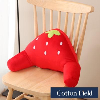 棉花田 小草莓 可愛造型護腰靠枕
