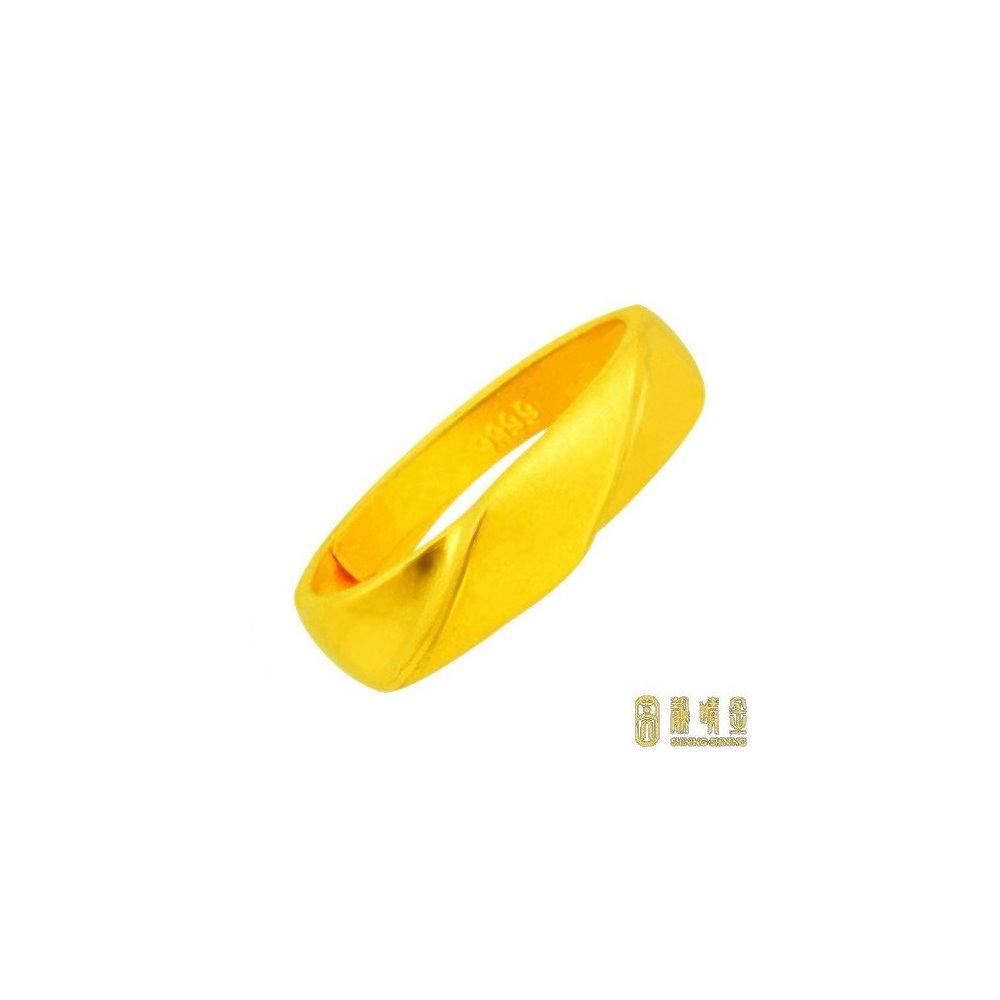 【靚睛金】永恆黃金男戒 (約1.27錢)