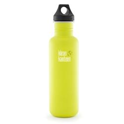 美國Klean Kanteen不鏽鋼瓶800ml-檸檬黃