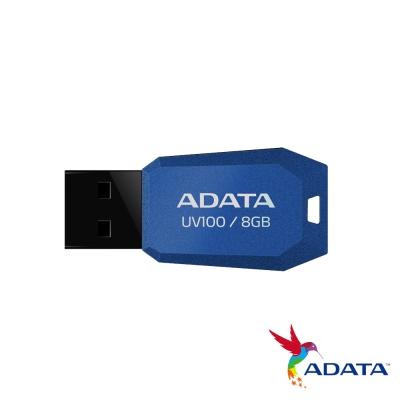 ADATA 威剛 UV100 8G隨身碟(藍色)