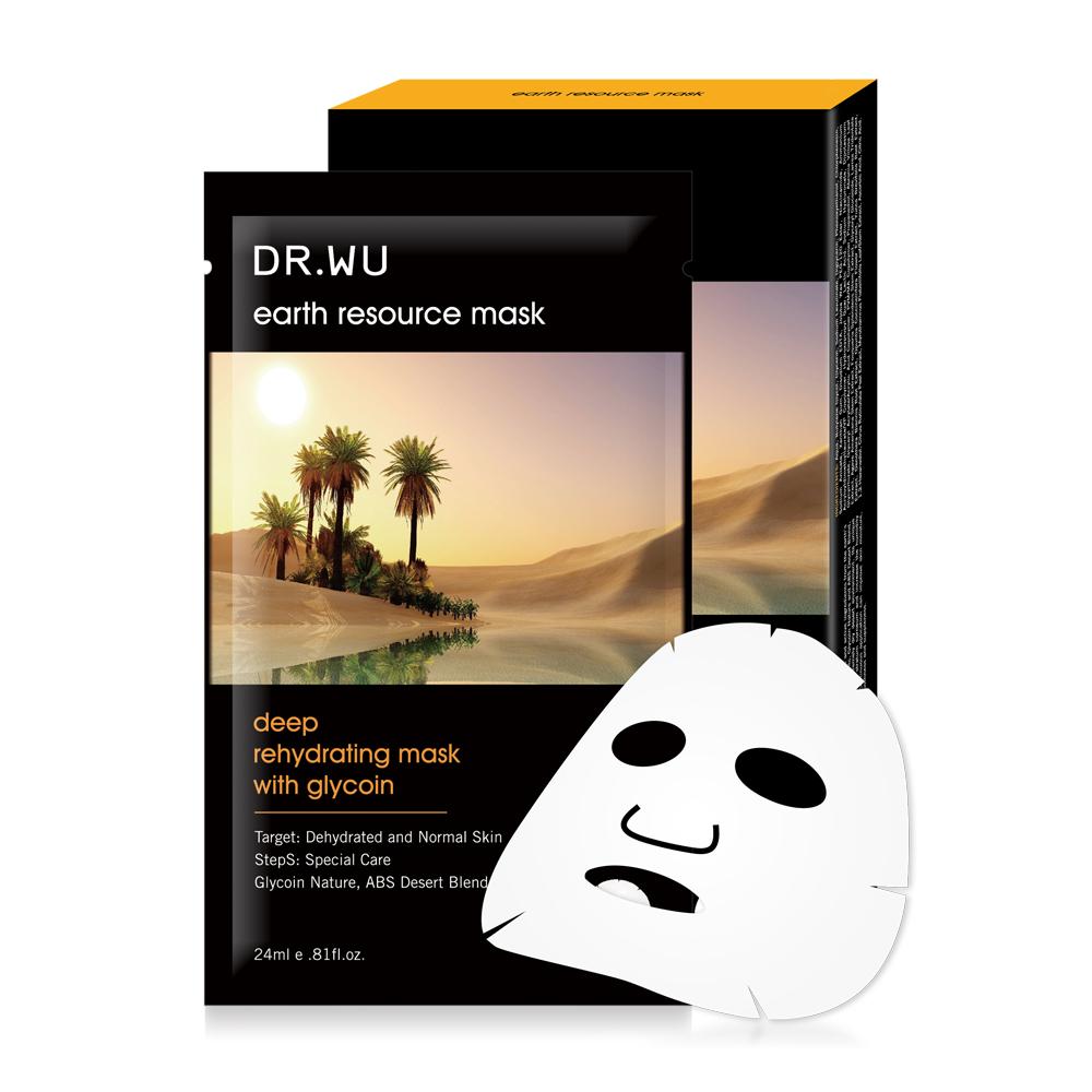 DR.WU 沙漠復活草保濕面膜3片入