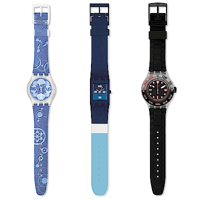 Swatch - Mystery Vintage Box Blue 沁藍酷夏三件組